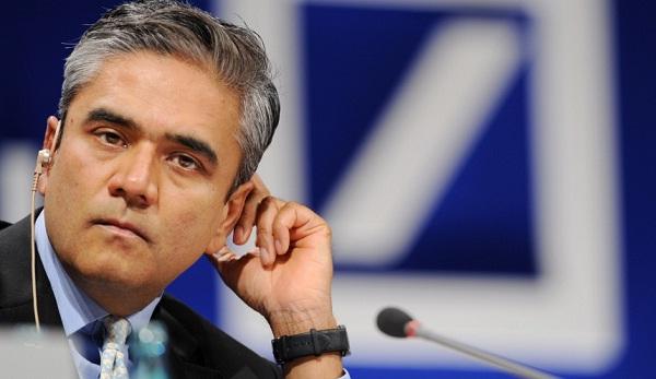Anshu Jain, co-chief executive officer at Deutsche Bank AG