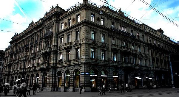 The headquarters of Credit Suisse