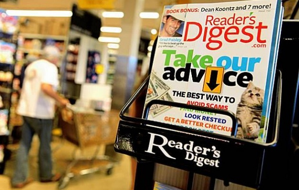 History likes to repeat itself – Reader's Digest is once again bankrupt