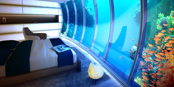 UnderWater World is closer with World Discus Hotel