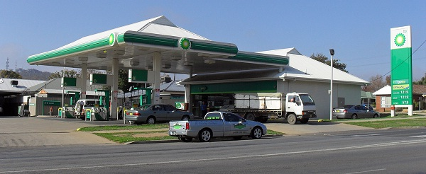 BP Plc's petrol station
