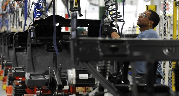 US factory activity slumped in March