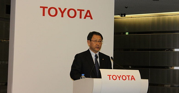 Toyota profits triple yet carmaker sticks to its low-risk plan