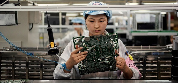 Flash China's manufacturing PMI for May disappoints