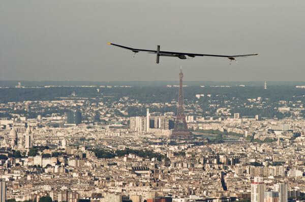 Solar-powerd Plane flies cross country making a stop in Washington.