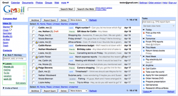 Gmail privacy settings