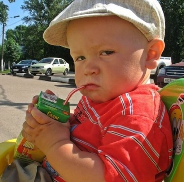 Obesity problems in kids relate to consumption of sweetened Drinks
