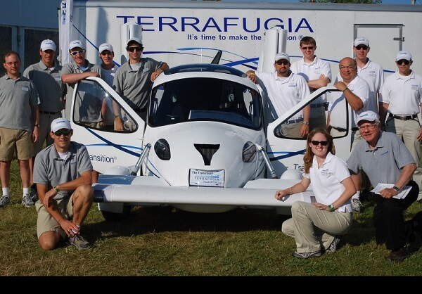 Terrafugia, the Flying Car makes its first public flight