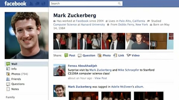 Security flaw in Facebook: Zuckerberg's profile page hacked