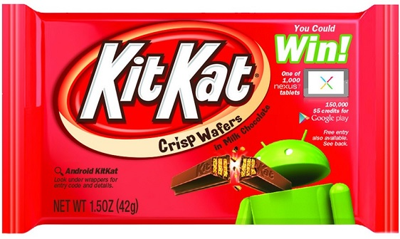 Google's names its New Mobile Operating system as Android KitKat.