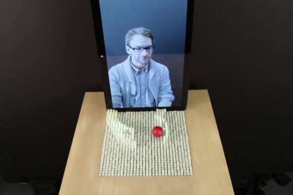 MIT unveils its tangible 3D modeling projector