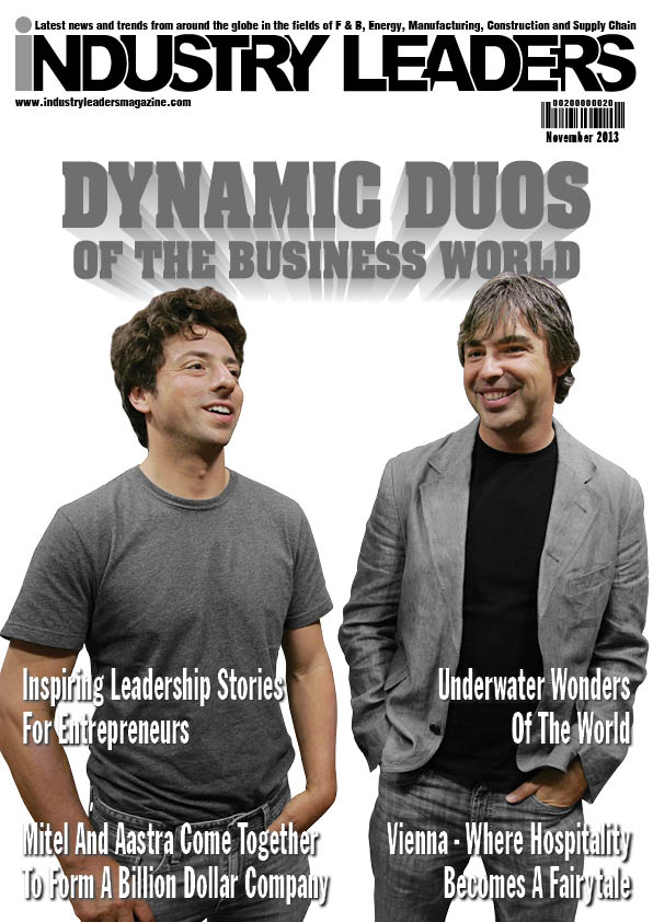 Nov 2013 Industry leaders Magazine