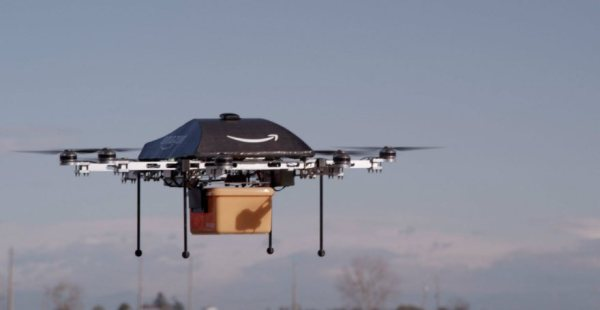 Amazon drones for future delivery