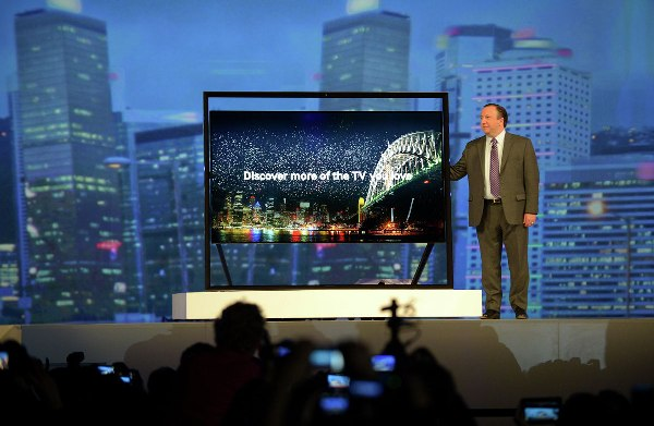 Ultra-high-definition televisions will soon be affordable for everyone