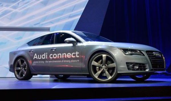 Audi self-driving car prototype