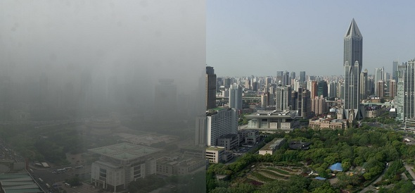 China's Worsening Air Pollution Now Resembles Nuclear Winter