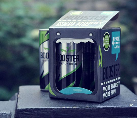 Booster Energy Drinks: More Energy More Fun