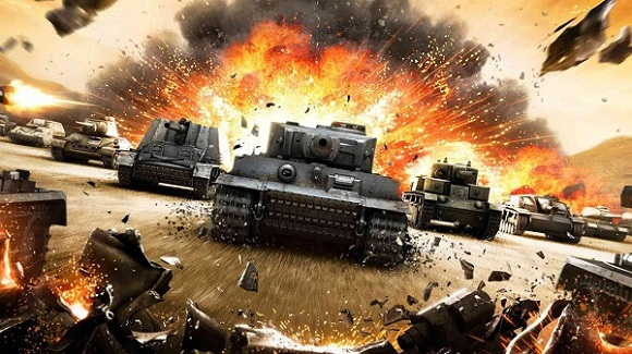 New Free to Play Xbox 360 Game: World of Tanks