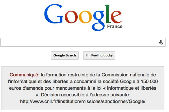 EU Privacy Fine, EU Antitrust Probe; Spill it out Google what settlement next?