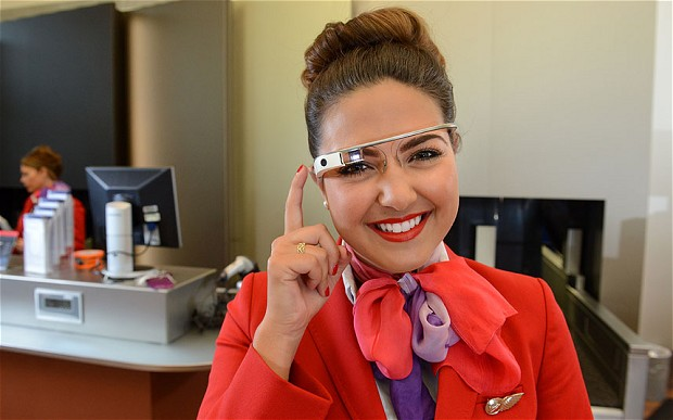 Google Glass makes its way in to the Airline Industry