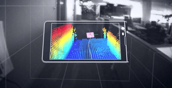 Google Project Tango: A Smartphone That Scans the World in 3D