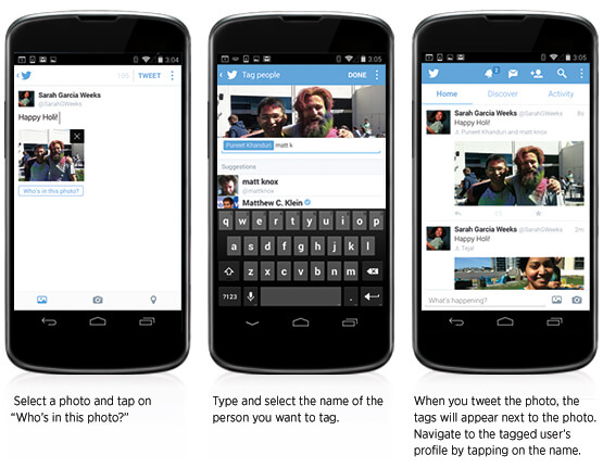 A Case of Competition Imitation? Twitter adds PhotoTagging and Multiple Photo Sharing to Tweets Similar to Rival Facebook
