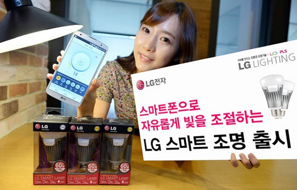 LG Announces Smart Lamp; Compatible with iOS and Android devices