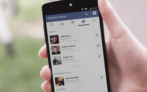 Facebook Rolls Out 'Nearby Friends', An Exact Location Sharing Feature