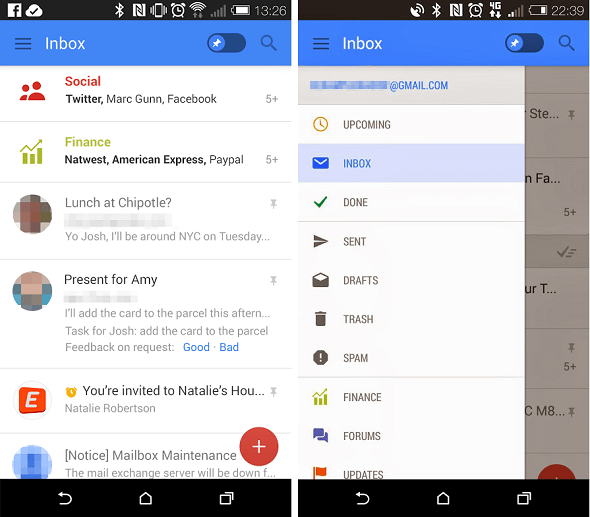 Gmail Update Features a Makeover: Addition of Snooze and Pinning