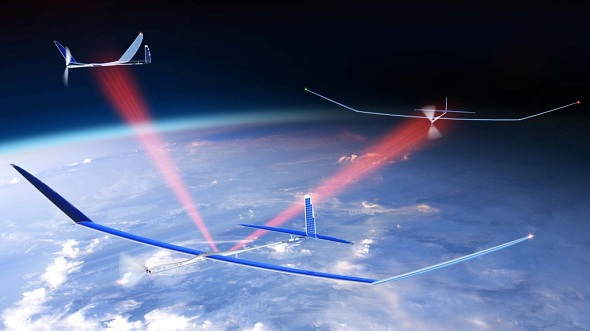 Google Buys drone maker Titan Aerospace, the one Facebook was eyeing for months