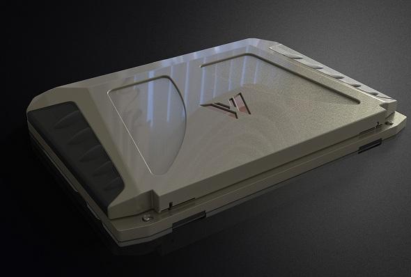 Meet World's First Solar Powered Laptop that makes Battlestar Galactica Designs look Lame