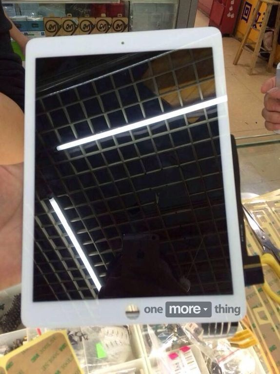 iPad Air 2: Leaked Images Showcase A Thinner, Integrated Display