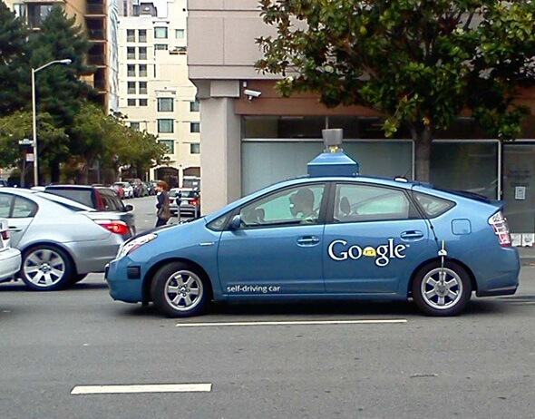 Google's Driverless Car Can Navigate Through Chaotic City Streets