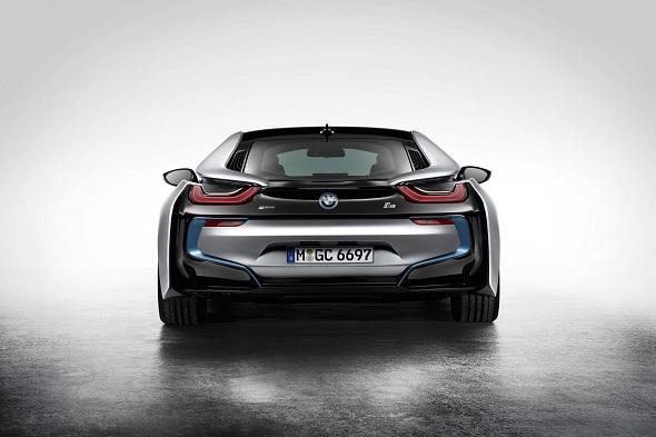 Image: BMW i8 Rear