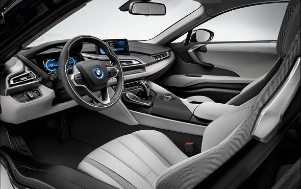 Image: BMW i8 Interior