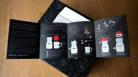 Nescafe Alarm Cap Brochure