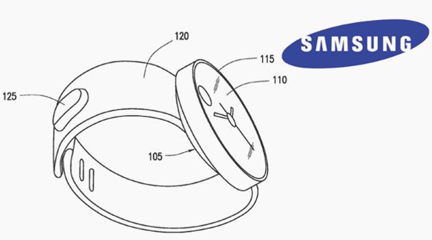 Samsung Smartwatch Patent Design Leaked