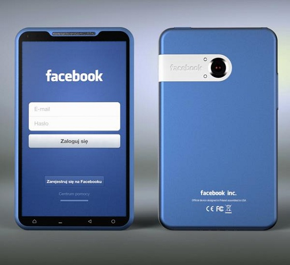 Facebook Smartphone Patent Revealed: Touchpad on the Side & Lots More!