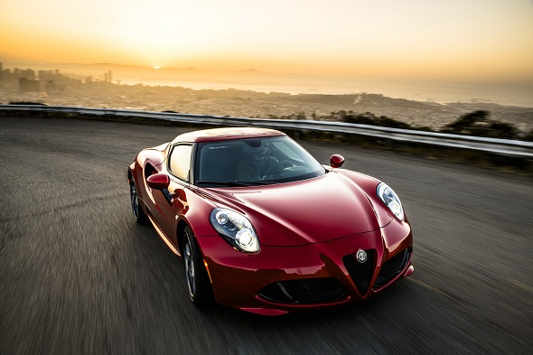 A Sultry American Resurrection: Alfa Romeo 4C comes to the U.S.