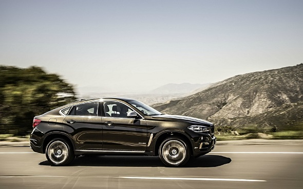 Muscular, Dynamic & Sleek: All New 2015 BMW X6 Leaked HD Images