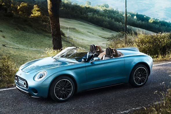 Calling all car lovers for 'Carpocalypse': The MINI Superleggera Vision Roadster