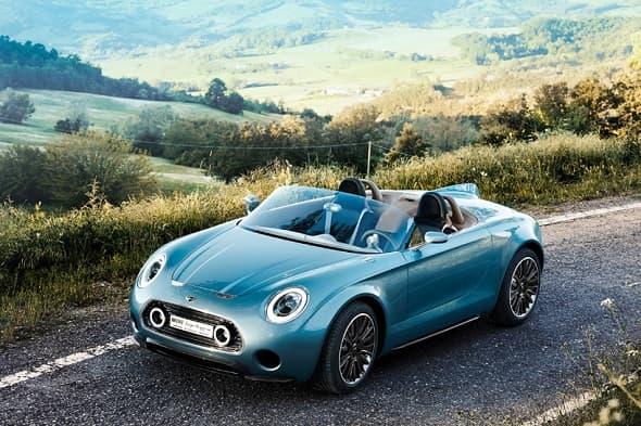 The MINI Superleggera Vision Roadster Concept Design