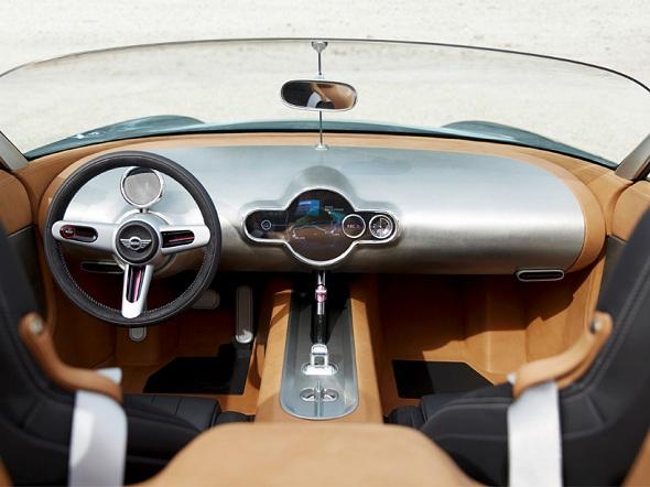 The MINI Superleggera Vision Concept Design : Inside & Outside