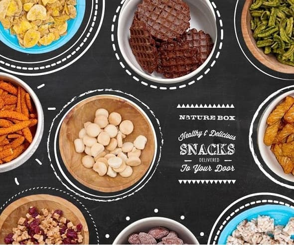 Currently, NatureBox offers up to 120 to 130 snack options.