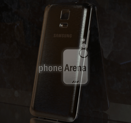 Samsung Galaxy F aka S5 Prime Flaunts a Metallic Panel [LEAKED IMAGES]