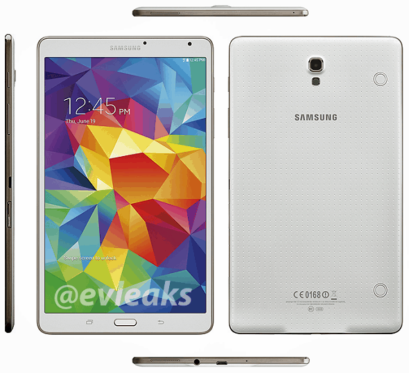 Samsung Unveils Galaxy Tab S 10.5 and Tab S 8.4 with Super AMOLED Screens