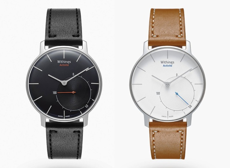 This Beautiful Swiss-Designer Watch Is Actually a Fitness Tracker