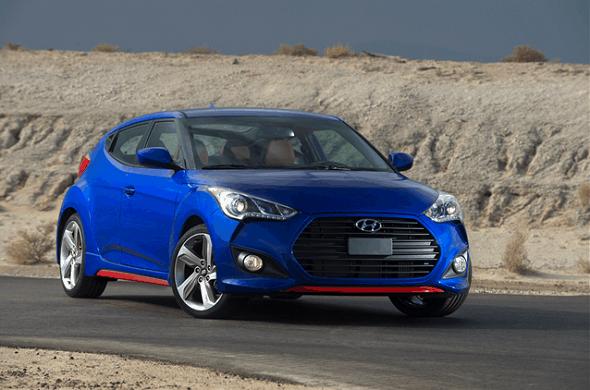 (Image: Hyundai Veloster, Avg - $18,382)