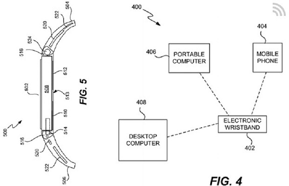 Apple has been granted granted Patent No. 8,787,006 originally filed in 2011 for the iWatch