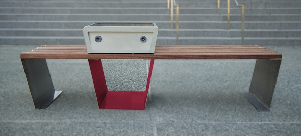 Soofas smart benches also collect data on air quality and noise levels.